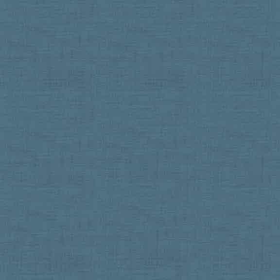 Makower Linen Texture cotton fabric // dark blue // Holm Sown