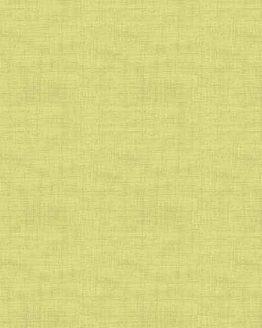 Makower Linen Texture cotton fabric // light green // Holm Sown