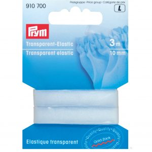 Prym Clear Transparent Elastic // P910700 // Holm Sown