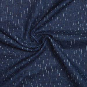 Sevenberry Japanese Indigo Cotton - lines // Holm Sown