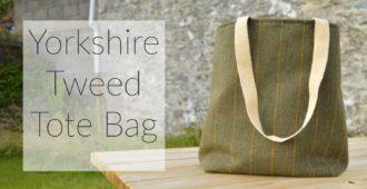 Yorkshire Tweed Tote Bag   Holm Sown