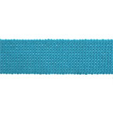 Cotton Acrylic Webbing // ET617 Turquoise // Holm Sown