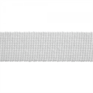 Cotton Acrylic Webbing // ET617 White // Holm Sown