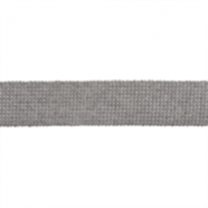 Cotton Acrylic Webbing // ET617 Silver // Holm Sown