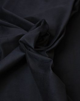 Stretch Cotton Velveteen fabric with | black | Holm Sown