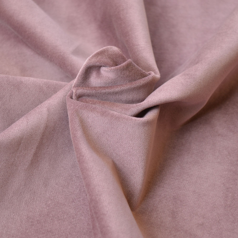 Cotton Velveteen fabric with stretch | dusky pink | Holm Sown