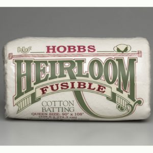 Hobbs Heirloom Fusible Cotton Blend 80/20 batting | Holm Sown