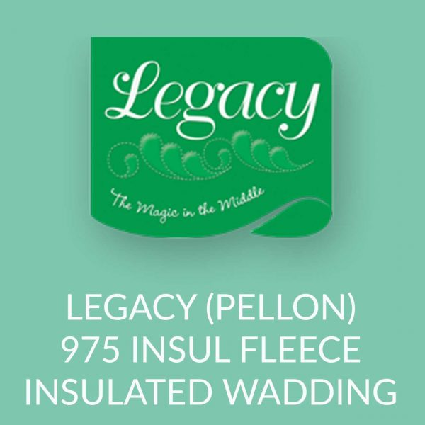Holm Sown Online Fabric and Haberdashery Shop - Legacy Pellon 975 Insul-Fleece Insulated Wadding Batting