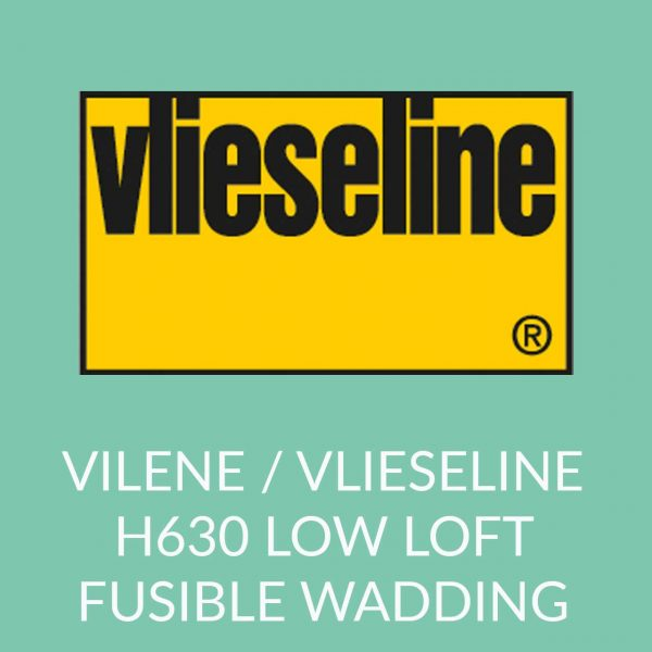 Holm Sown Online Fabric and Haberdashery Shop - Vlieseline Vilene H630 Low Loft Fusible Wadding Interfacing