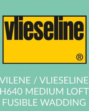 Holm Sown Online Fabric and Haberdashery Shop - Vlieseline Vilene H640 Medium Loft Fusible Wadding Interfacing
