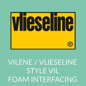 Holm Sown Online Fabric and Haberdashery Shop - Vlieseline Vilene Style-Vil Sew-In foam stabiliser interfacing