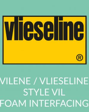 Holm Sown Online Fabric and Haberdashery Shop - Vlieseline Vilene Style-Vil Sew-In foam stabiliser interfacing