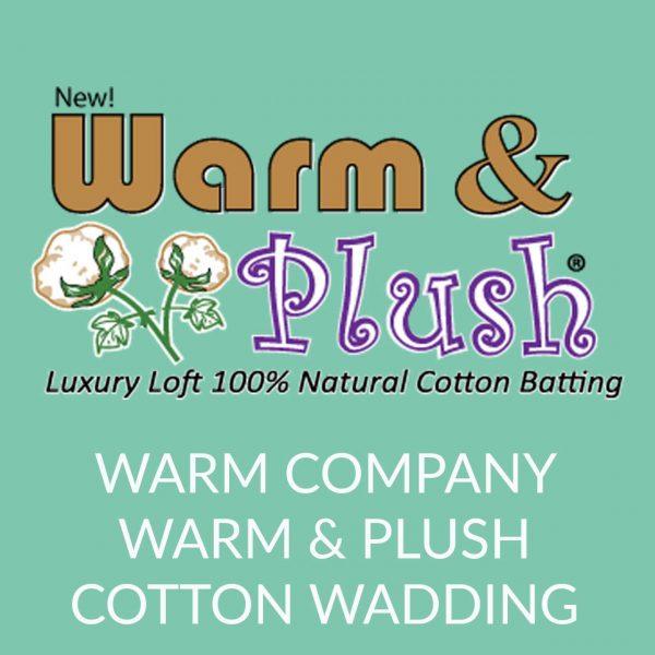 Holm Sown Online Fabric and Haberdashery Shop - Warm Company Warm & Plush Cotton Wadding