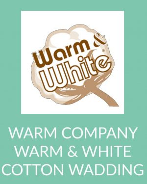 Holm Sown Online Fabric and Haberdashery Shop - Warm Company Warm & White Cotton Wadding