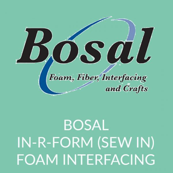 Holm Sown Online Fabric and Haberdashery Shop - Bosal In-R-Form Sew-In foam stabiliser interfacing