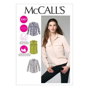 McCalls M6436 Misses Shirt | Holm Sown