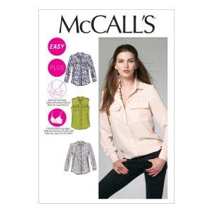 McCalls M6436 Misses Shirt | Holm Sown