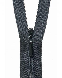 YKK Concealed Invisible Zip - Black   Holm Sown