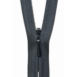 YKK Concealed Invisible Zip - Black | Holm Sown