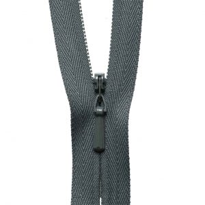 YKK Concealed Invisible Zip - Grey | Holm Sown