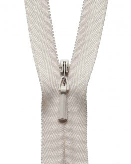 YKK Concealed Invisible Zip - Ivory | Holm Sown