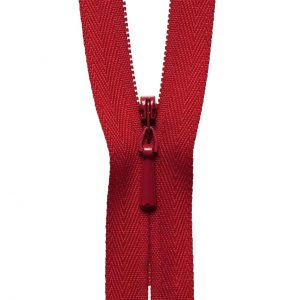 YKK Concealed Invisible Zip - Red | Holm Sown