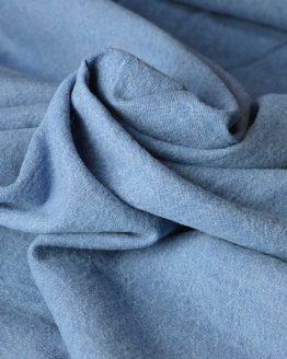 7.5oz Washed Denim – light blue |  Dressmaking fabrics | Holm Sown