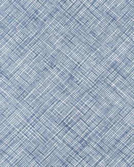 Carolyn Friedlander Architextures crosshatch cotton quilting fabric - blue | Robert Kaufman | Holm Sown