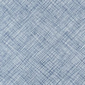 Carolyn Friedlander Architextures crosshatch cotton quilting fabric - blue | Robert Kaufman | Holm Sown