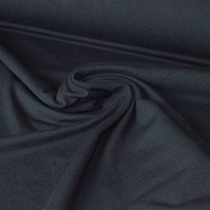 Cotton Spandex Jersey – Black |  Dressmaking fabrics | Holm Sown