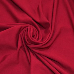 Cotton Spandex Jersey – Burgundy |  Dressmaking fabrics | Holm Sown