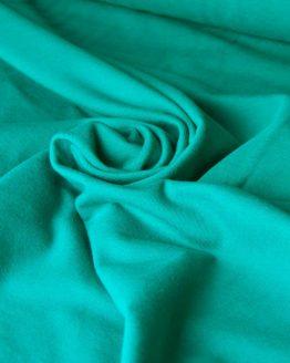 Cotton Spandex Jersey – Emerald Green |  Dressmaking fabrics | Holm Sown