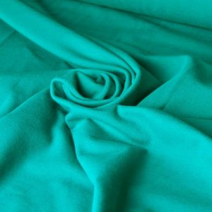 Cotton Spandex Jersey – Emerald Green |  Dressmaking fabrics | Holm Sown