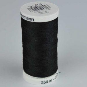 Gutermann Sew-All Thread 250m - 000 black | Holm Sown