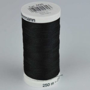 Gutermann Sew-All Thread 250m - 000 black | Holm Sown