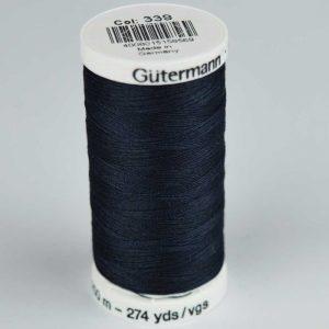 Gutermann Sew-All Thread 250m - 339 dark navy | Holm Sown