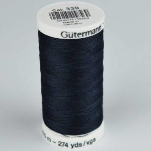 Gutermann Sew-All Thread 250m - 339 dark navy | Holm Sown