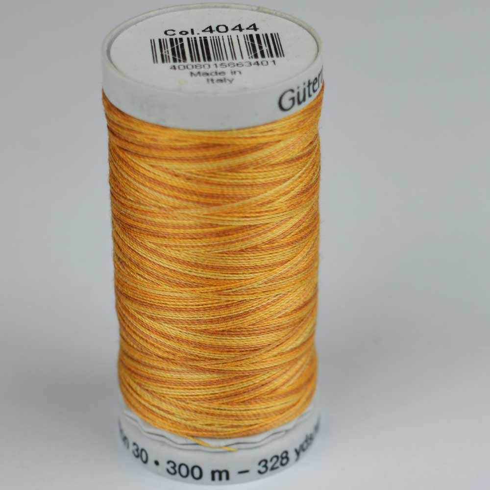 Gutermann Sulky Cotton Variegated Thread - 4044 yellow | Holm Sown