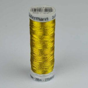 Gutermann Sulky Metallic Thread - 7005 gold | Holm Sown