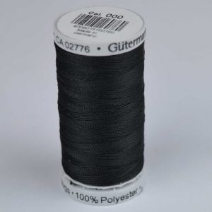 Gutermann Upholstery Thread 100m - 000 black | Holm Sown