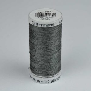 Gutermann Upholstery Thread 100m - 701 grey | Holm Sown