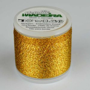 Madeira Rayon 40 Metallic Thread 200m - 21 gold | Holm Sown