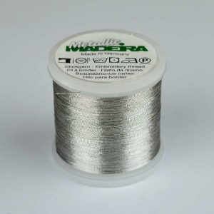 Madeira Rayon 40 Metallic Thread 200m - 320 silver | Holm Sown