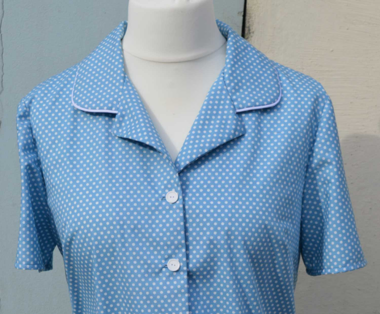 McCalls 6659 Spotty Pyjama Set For Spring   shirt view C   Holm Sown