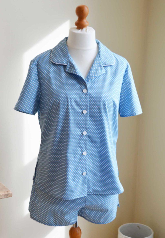 McCalls 6659 Spotty Pyjama Set For Spring | Holm Sown