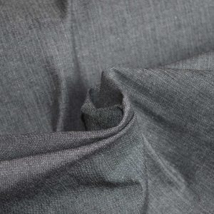 Black Denim with elastane - dressmaking fabric from Holm Sown