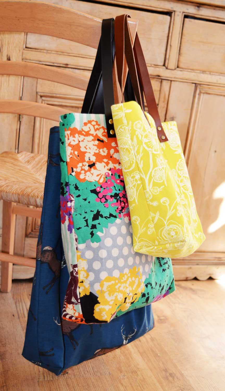 Genoa Tote Bag Workshop - three sizes   Holm Sown