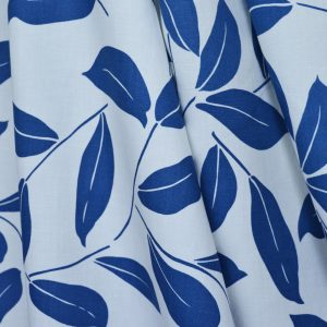 Leavy Linen Viscose - Ivory | Dressmaking Fabric from Holm Sown
