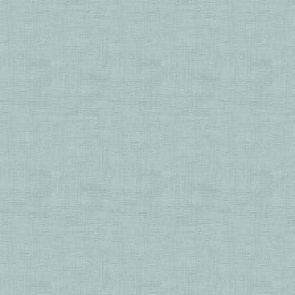 Makower Linen Texture Duck Egg Blue cotton fabric | Holm Sown