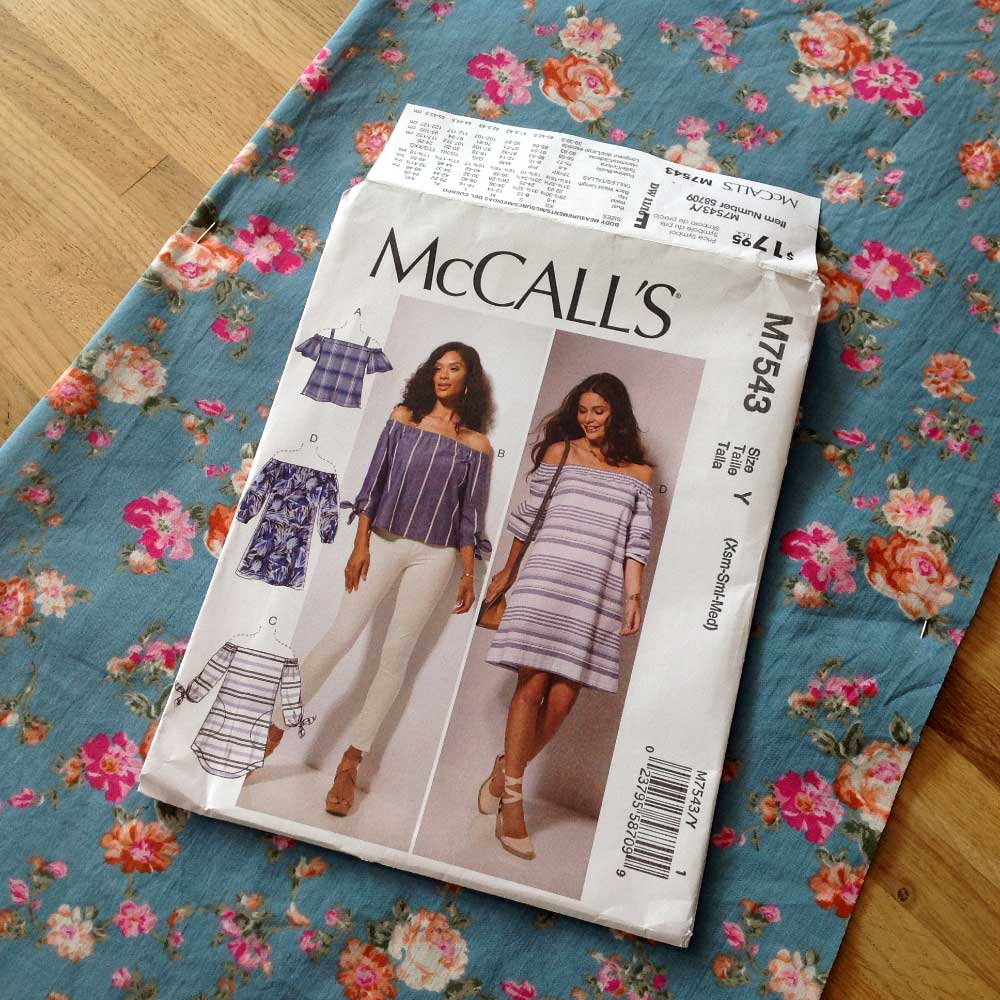 McCalls M7543 Floral Lawn | Spring Sewing Plans - Holm Sown